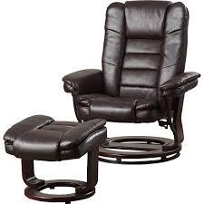 alcott hill manual swivel recliner with ottoman u0026 reviews wayfair