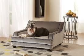 mid century contempo dog sofa designer dog beds at glamourmutt com