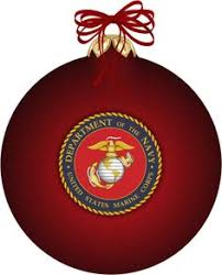 4 25 marine corps american ornament for