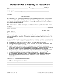 Durable Power Attorney by 30 Power Of Attorney Forms By State