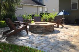 backyard patio design cheap and simple propane fire pit tables