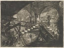 the arch with a shell ornament battista piranesi ngv