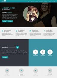 Online Resume Portfolio by 40 Best Vcard Resume Wordpress Themes