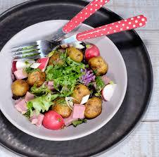 cuisiner les pommes de terre de noirmoutier salade composée aux bonnottes pommes de terre de noirmoutier