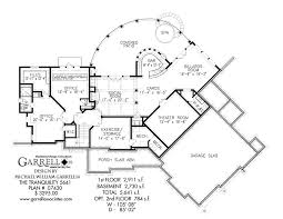 basement house plans tranquility 5641 house plan house plans by garrell associates inc