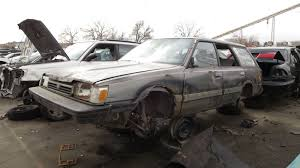 subaru minivan 2016 junkyard find 1991 subaru loyale colorado stereotypes edition