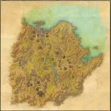 Deshaan Treasure Map Maps Of The Elder Scrolls Online Exploring The Elder Scrolls