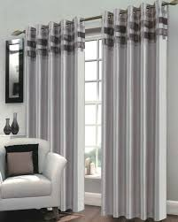 Silver Black Curtains Silver Cheap Ready Made Curtains Uk Ireland Harry Corry
