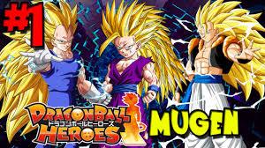 dbz free games dragon ball heroes mugen