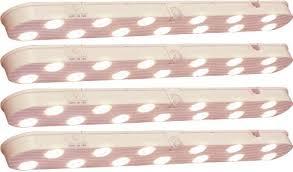 motion sensor under cabinet lighting amazon com 4 pack wireless motion sensor undercabinet lights home
