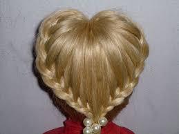 Hochsteckfrisurenen Lange Haare Konfirmation by Einfache Frisuren Herz Zopf Frisur Flechtfrisuren Braid