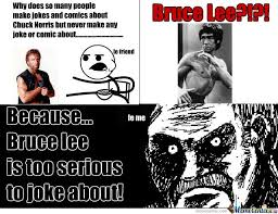 Bruce Lee Meme - chuck norris vs bruce lee by recyclebin meme center