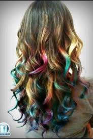 hair color pics highlights multi 9 best hair 2k16 images on pinterest colourful hair cabello de
