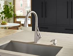 product stories pfister faucets kitchen bath design blog the venturi kitchen faucet with spot defense finish from pfister faucets