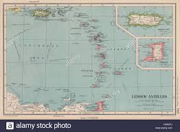 Map Puerto Rico Lesser Antilles Windward U0026 Leeward Islands Puerto Rico Trinidad