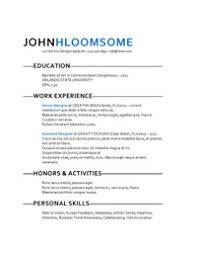 great resume template 25 great resume templates for all aol finance