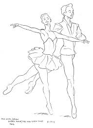 sleeping beauty ballet coloring page printable pages click the