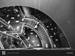 Looking Down Stairs by Tokyo Japan June 18 2015 Looking Down The Stairs Inside The