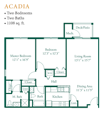 appleton oaks floor plans
