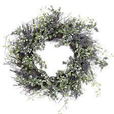 berry wreath decorative 22 plum artificial berry wreath reviews joss