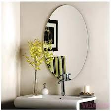 frameless rectangular bathroom mirror u2013 easywash club