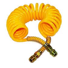 pu coil hose coil hose spring hose recoil air hose flexible