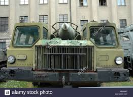 maz car scud b rocket on maz 534 truck stock photo royalty free image