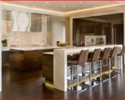 cuisine avec bar modele de cuisine americaine avec ilot central 10 cuisine avec