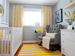 Yellow Curtains Nursery The Way To Brighten Up A Room With Yellow Curtains Interior