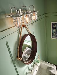 unique bathroom lights home interior design ideas