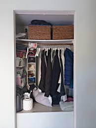 iheart organizing a coat closet makeover again