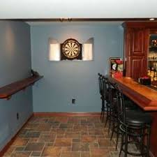 My Awesome Basement - awesome basement bar cool sports feel wainscotingamerica com
