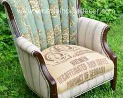 Victorian Upholstered Chair Channel Back Chairs Etsy