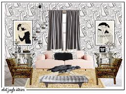 moodboards velvet jungle interiors