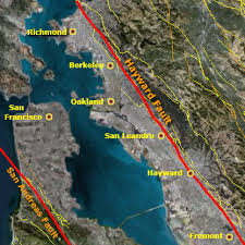 san francisco fault map gc6q4nv hayward fault fremont earthcache in california united