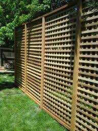 Trellis As Privacy Screen All Access Fence U0026 Fabrication Privacy Screens