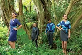 hawaiian airlines unveils new uniforms hawaiian airlines