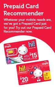 prepaid account convenient prepaid top ups singtel
