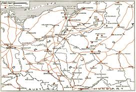 Breslau Germany Map by The Project Gutenberg Ebook Of The Story Of The Great War Volume