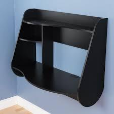 kurv modern floating desk black desks amp workstations best buy