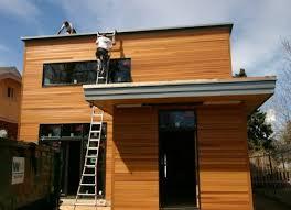 modern house building building a modern house in denver colorado contemporist