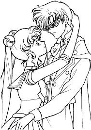 sailor moon coloring pages free sailor moon coloring pages 04