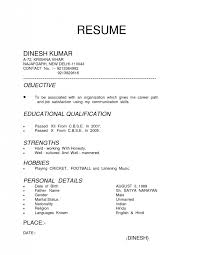 Sample Of Resume For Job by Types Of Resume 20 Resume Type Format Format Different Type
