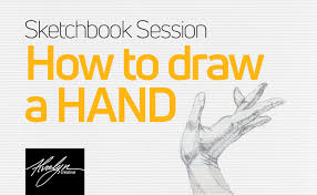 how to draw a hand alvalyn creative