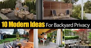 Backyard Privacy Ideas 10 Modern Ideas For Backyard Privacy