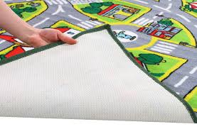 Kids City Rug by Buy Kids Non Slip Road Map City Rug At Cheapest Rugs Online
