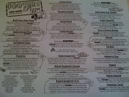 los patios menu footers pizza menu menu for footers pizza terre haute terre