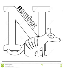 letter n coloring pages free