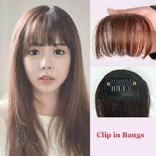 clip on bangs hair clip in bangs hair extension false hair clip on