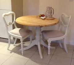Small Round Pine Dining Table Kitchen Table   Chairs DELIVERY - Kitchen table for two